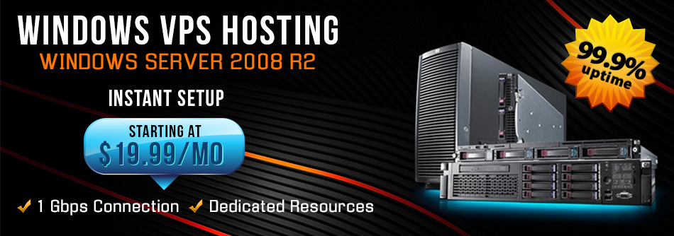 Professional Windows VPS Hosting For Serious Internet Marketers